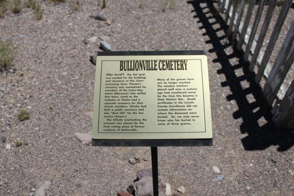 Cemetery #6, Bullionville Cemetery, Pioche