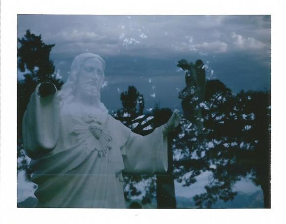 Double Exposure Jesus