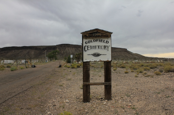 Goldfield Cemetery, Nevada