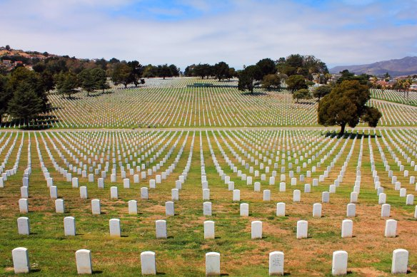 Golden Gate National Cemetery, San Bruno, CA