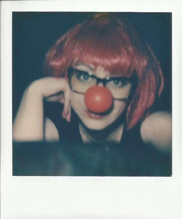 Clown Motel selfie.