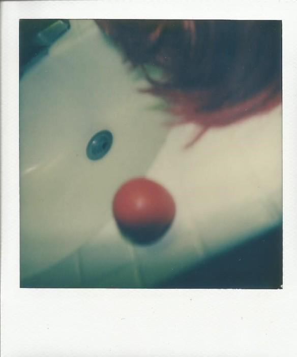 Clown Motel remnants.